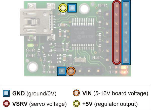 Picture of Micro Maestro USB Servo Controloler