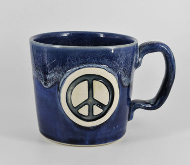 Peace Sign Coffee Mug Image